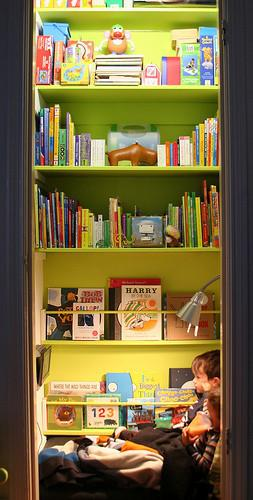 Kids' Rooms {Reading Nooks}