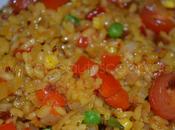 Food: Healthy Vegetable Paella!