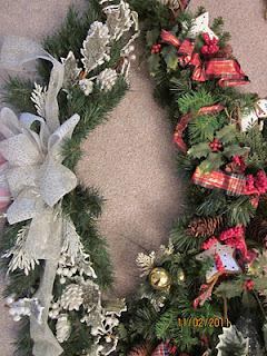 Re-Purposed Christmas Decor