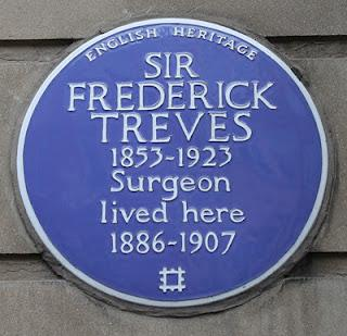 Plaque of the Week No.105: Frederick Treves