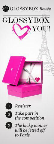 Competition: Glossybox Win a Trip to Paris!