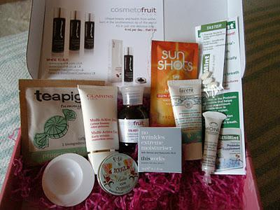Latest in Beauty - Refresh and Recovery Box
