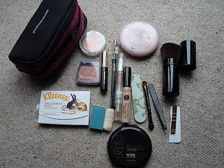 Whats in my travel make up bag?