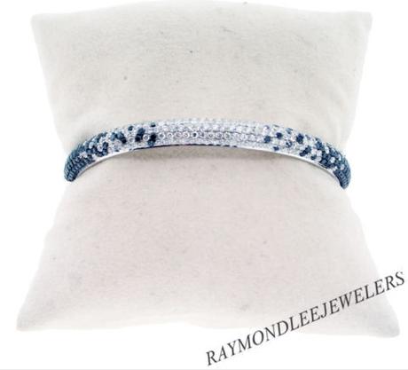 black diamond, diamond bracelet, black and white diamonds, boca raton, south florida, boca diamond, boca raton jewelry, raymond lee jewelers