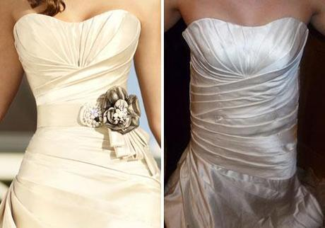 real and cheap wedding dress knock off
