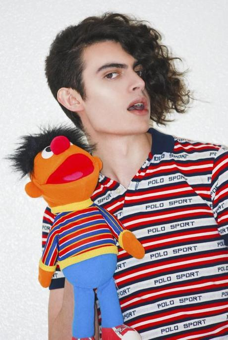 Fashion Photographer and Model Michael Freeby Does The Mika Thing