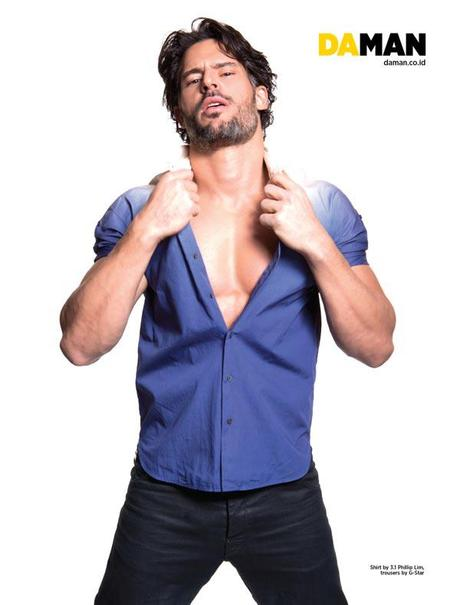 Life if Good for Joe Manganiello in DA MAN Magazine