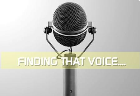 Just Written 9: Finding That Voice
