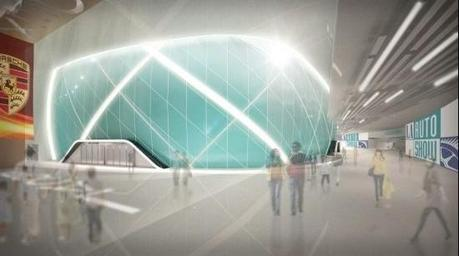 Interior Rendering New Convention Hall