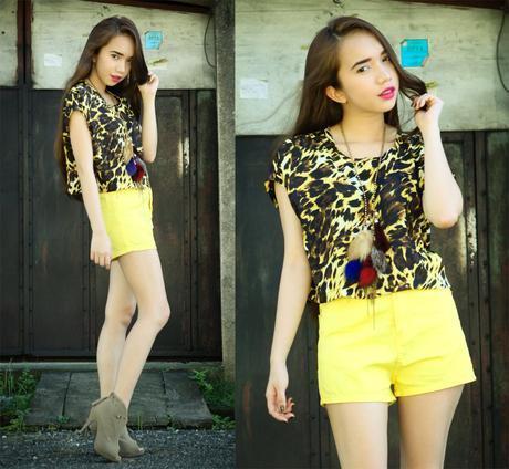 Look 295: Yellow Animal