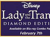 Disney's Lady Tramp: Diamond Edition Blu-ray Combo Pack Released Tomorrow