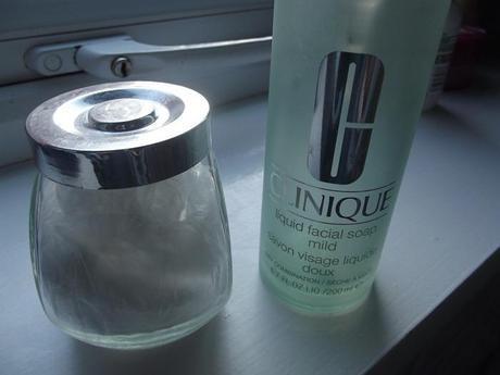 Soda and Clinique soap