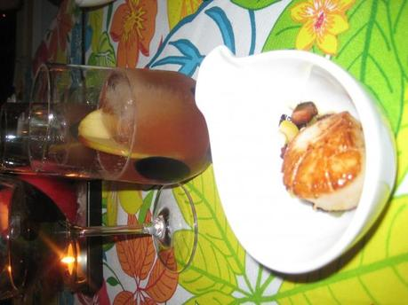 Cocktails Pairings Dish #1 – Scallops and Bacon