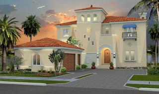 Inspiring House 3D Real Estate Architectural Rendering
