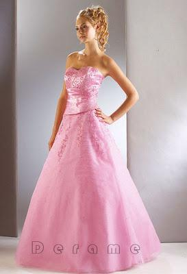 Pink Wedding Dresses Are Popular