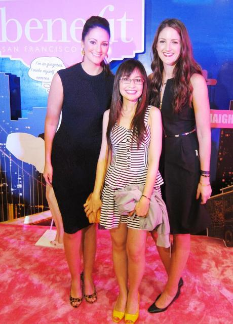 Meeting Benefit Cosmetics' Princesses, Maggie & Annie Ford Danielson in Manila!