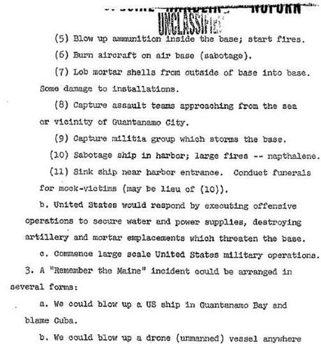 Operation Northwoods: A true U.S. government conspiracy for those who mock conspiracy theories