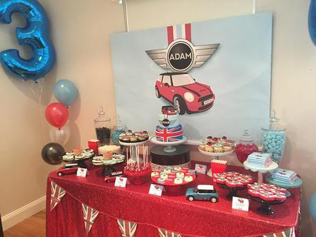 Little Big Company The Blog: Mini Cooper themed Party