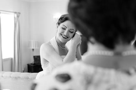 Isle of Arran Documentary Wedding Photography bride & groom preparation brodick castle