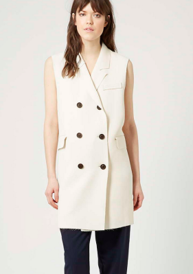 How to wear: Sleeveless Blazer/ Long Vest for Fall/Winter 2015
