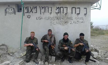 The Reform bresaver who sp[prayed Na Nach graffiti in Syrian ISIS areas