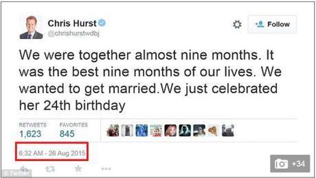 Chris Hurt tweet