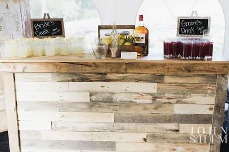 Rustic Wedding Bars to Delight