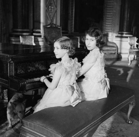 Princess Elizabeth and Princess Margaret, 20 December 1938