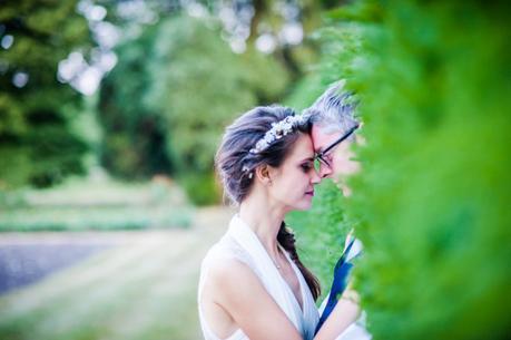 hedge Couple Portrait