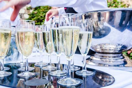 Champagne at reception