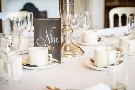 Decor Table number
