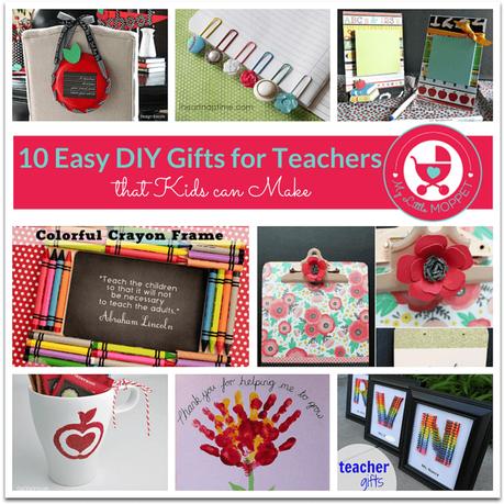 10 Easy Diy Gift Ideas For Teachers Paperblog