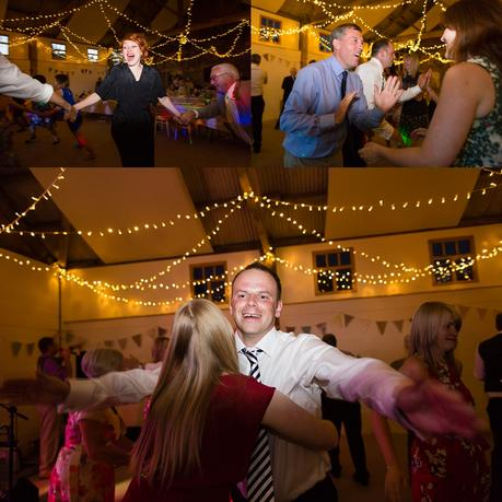 Barmbyfiled Barn wedding photography party dance