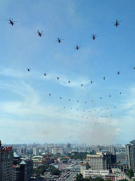 China Parade Skies