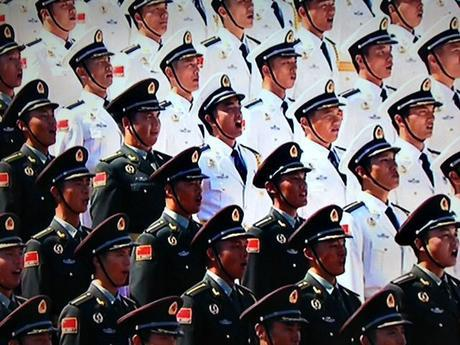 China Parade Soldiers Mint mocha Musings