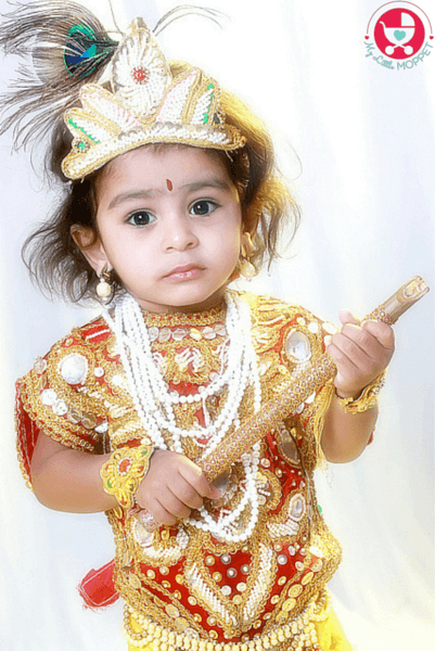 7 Tips To Dress Your Baby In Krishna Dress Paperblog
