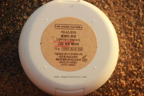 Innisfree BB Long Wear Cushion No. 23 Review