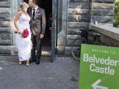 Kelly Dylan's Belvedere Castle Terrace Wedding