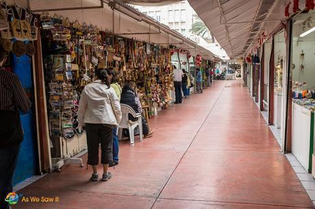 Open market in Monterrey, Mexico