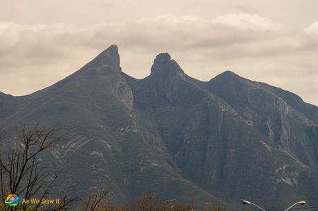 Close up of Saddleback Mountain