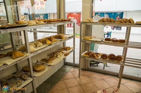 Mexican bakeries can be found on most every street in Monterrey.