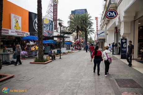 Street in Monterrey, Mexico