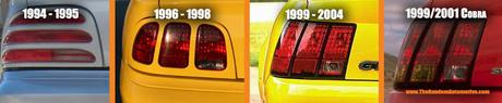 Mustang Taillight Guide