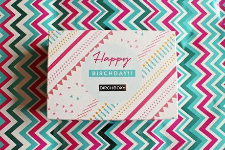 HAPPY BIRTHDAY BIRCHBOX   SEPTEMBER 2015 BOX