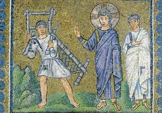 The healing of the man at the pool: a reflection on the mosaic from S. Apollinare Nuovo, Ravenna