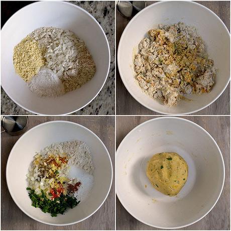 how to make thalipeeth flour