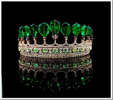 Emerald-and-Diamond-Tiara