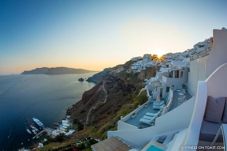 Fitness On Toast Faya healthy blog girl Katikies Hotel Travel Active Escape Luxury Holiday Fit Workout Health Retreat Detox Greece Santorini Tourism LHW-21