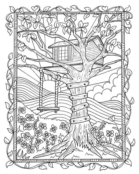 Coloring For Adults Book A Paperblog