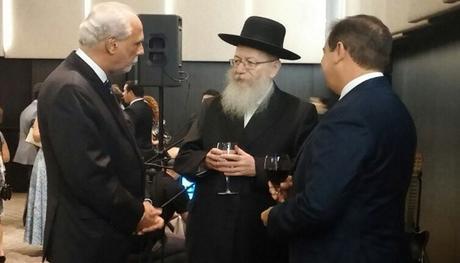 Minister Yaakov Litzman celebrates Independence Day